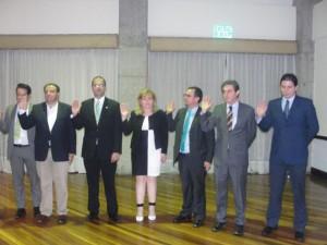 La ceremonia de juramentación